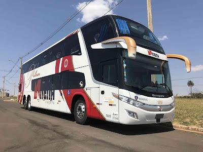 Scania vende primeiro ônibus com avançado sistema de segurança para evitar acidentes