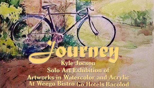 Bacolod artist Kyle Jocson art exhibit