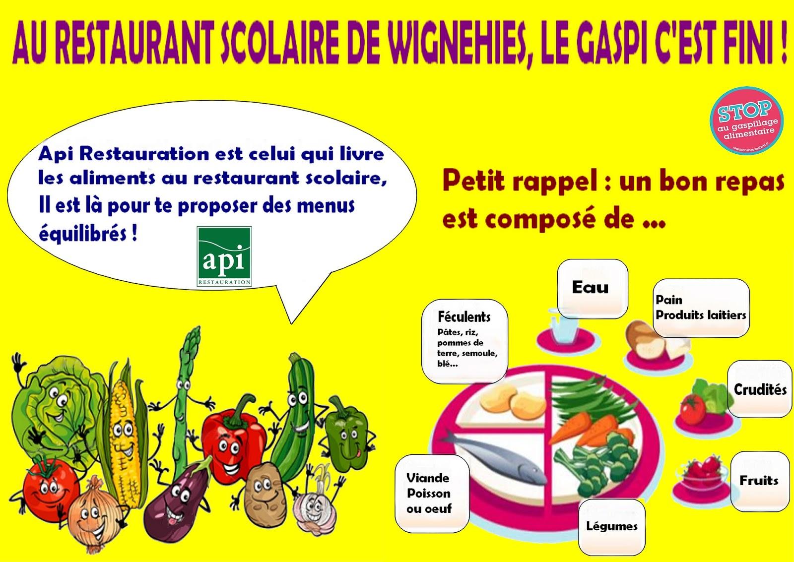 Blog officiel de wignehies restauration scolaire for Societe de restauration collective scolaire