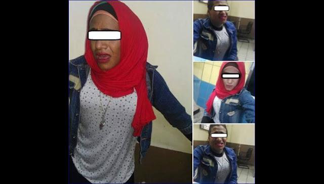 بالصور.. ضبط شاب يرتدى ملابس نسائية للتحرش بالفتيات بالمترو شاهد كيف اكتشفوه وماذا فعلوا به !