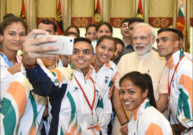 PM Narendra Modi to give send-off  to Indian contingent for Rio Olympics