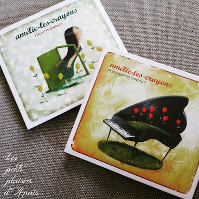 Pochettes Amélie-les-Crayons