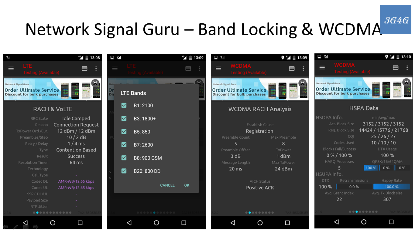 The 3G4G Blog: Free Apps for Field Testing - Part 2