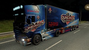 Duncan Oil Scania R skin and trailer