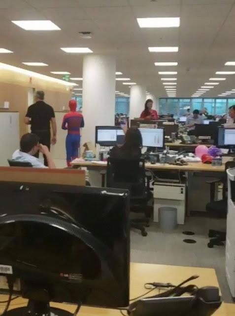Bancário Homem Aranha3