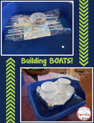 STEM Challenge: This much loved challenge has easy materials you just gather from your classroom. Kids love this one! Read more about it on my summer STEM series!