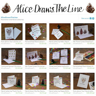 Alice Draws The Line brand image concise