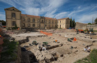 Ancient Ucetia emerges in modern Uzès [Credit: Denis Gliksman, INRAP]