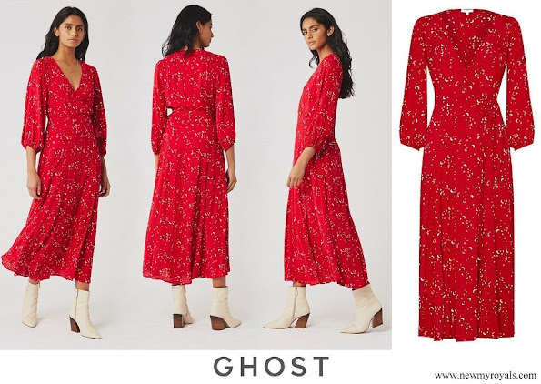 The Countess of Wessex wore Ghost London Aueline moon star print dress