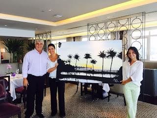 Sheraton Rio ganha quadro assinado pela artista Mariana Revelles