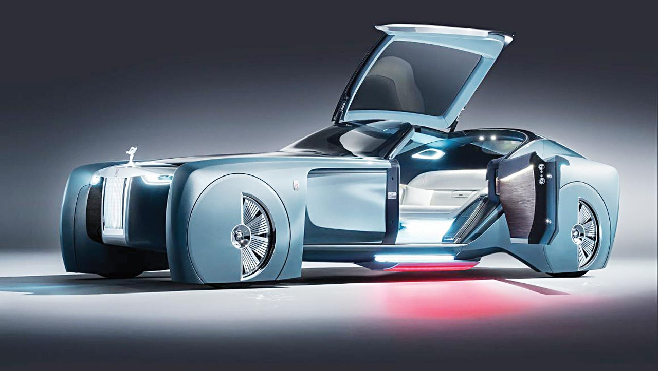 Rolls Royce 103EX The Future Of Luxury Cars Flatimes