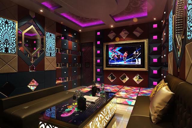 Thiết kế phòng hát karaoke hiện đại