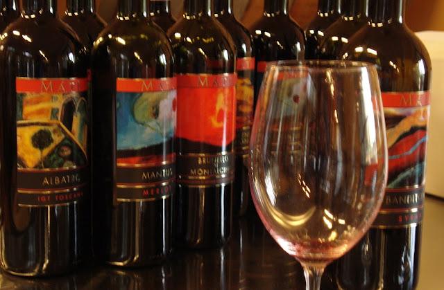 Maté Winery em Montalcino na Itália