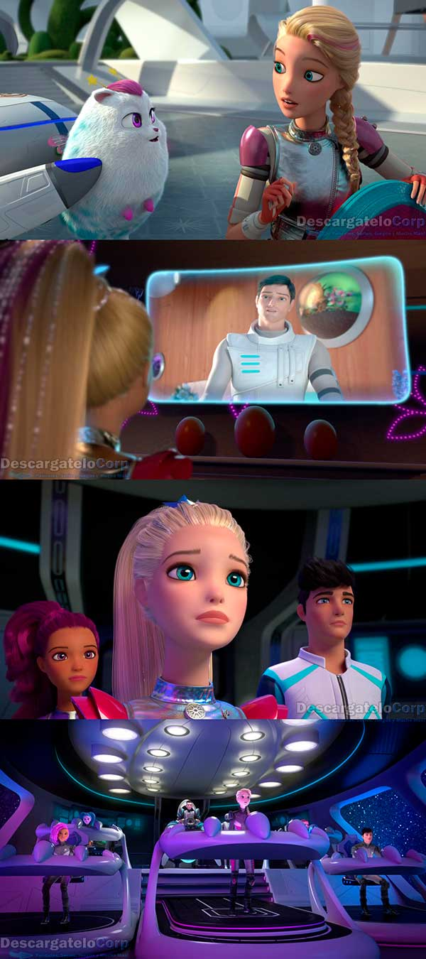 Barbie en una Aventura Espacial HD 1080p Latino