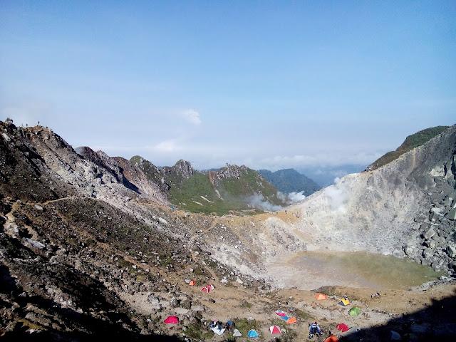 Pesona Gunung Sibayak Sumatera Utara