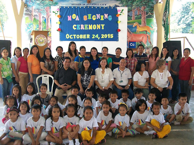 CORNERSTONE in Inuman Elementary School
