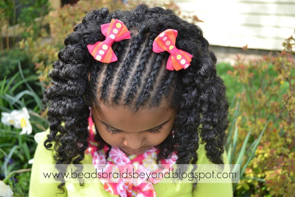 Sensational Beads Braids And Beyond Natural Hair Styles For Little Girls Short Hairstyles Gunalazisus