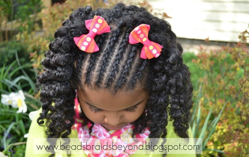Beads, Braids And Beyond: Natural Hair Styles For Little