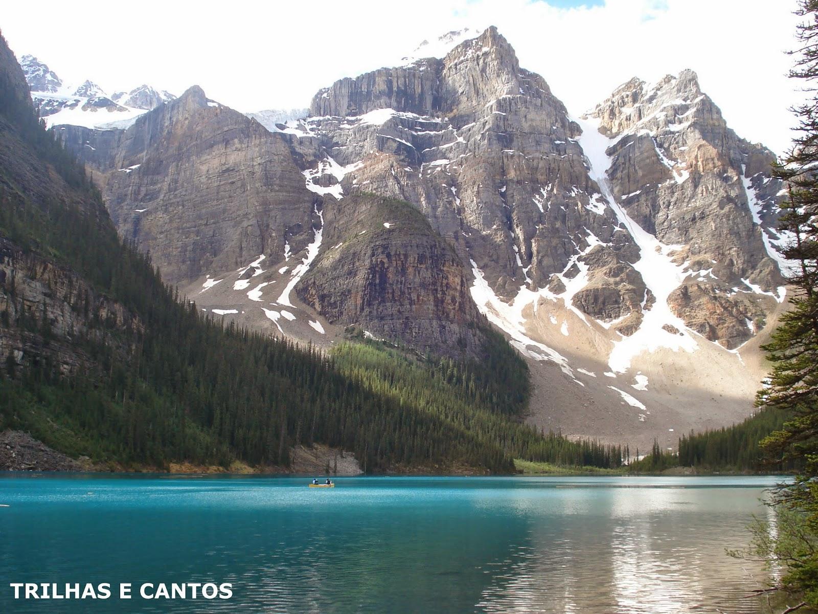 Moraine Lake Montanhas Rochosas