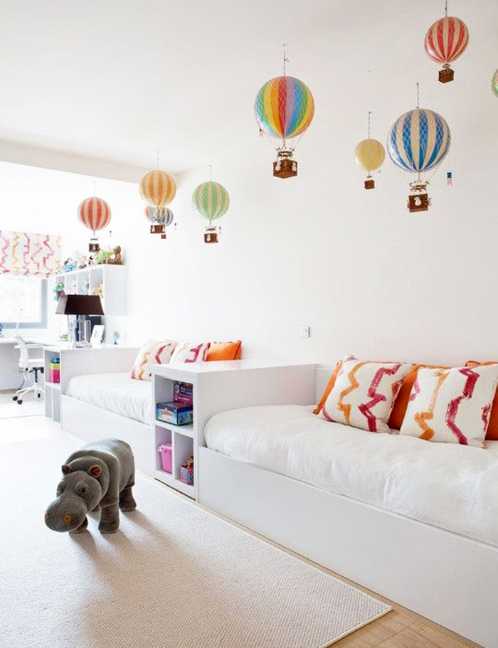 Decorating children's room with Hot Air Balloons