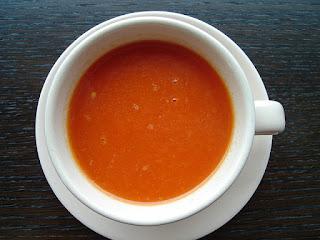 Soupe de poivrons rouges pour Souping