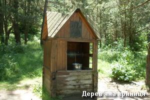Дерев'яна криниця