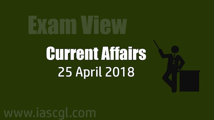 Current Affair 25 April 2018