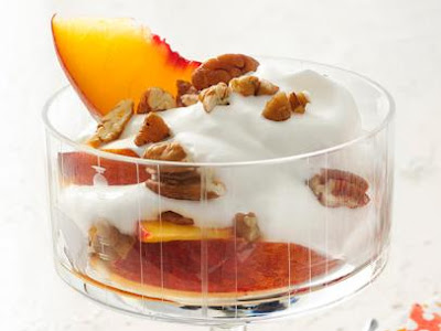 http://www.foodnetwork.com/recipes/food-network-kitchens/boozy-peaches-and-cream-recipe.html