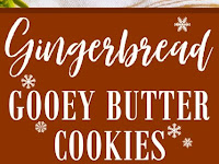 Gingerbread Gooey Butter Cookies {from scratch!}