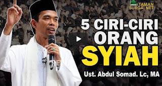 5 CIRI - CIRI ORANG SYIAH - Ust. Abdul Somad. Lc., MA [Video]