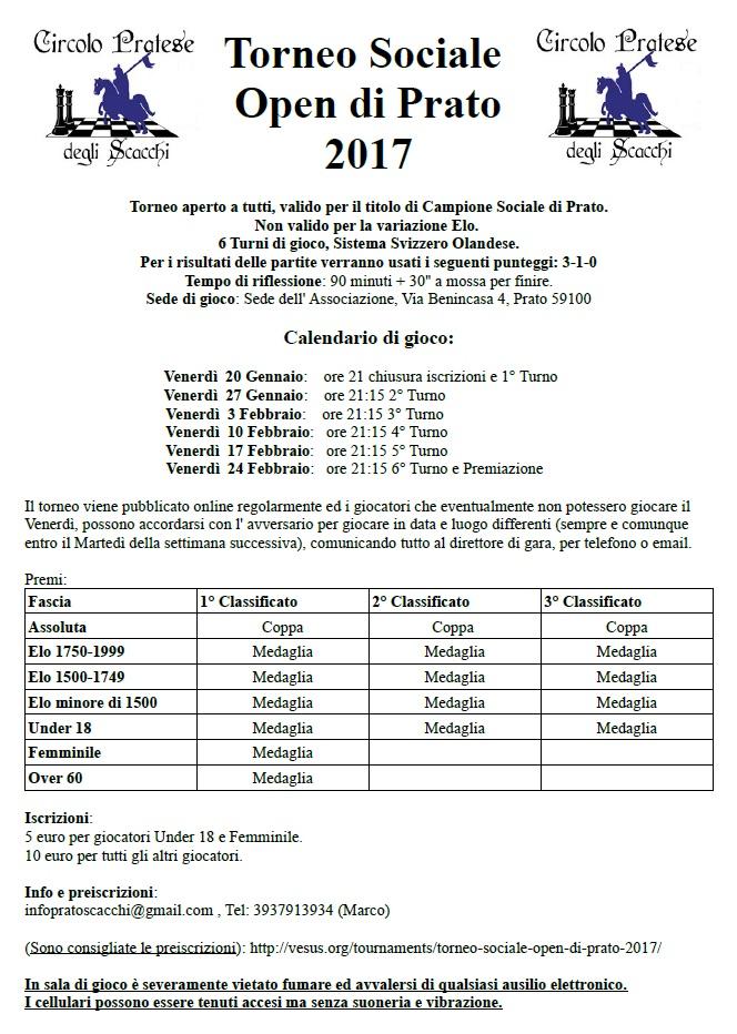 Fsi Scacchi Calendario.Blog Del Circolo Pratese Degli Scacchi