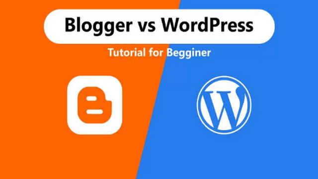 أيهما أفضل منصة تدوين؟ Blogger Vs WordPress