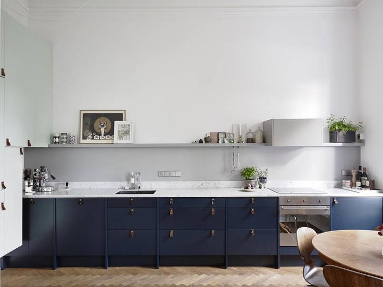 ciemne fronty, pomysł na kuchnię, kuchnie 2015