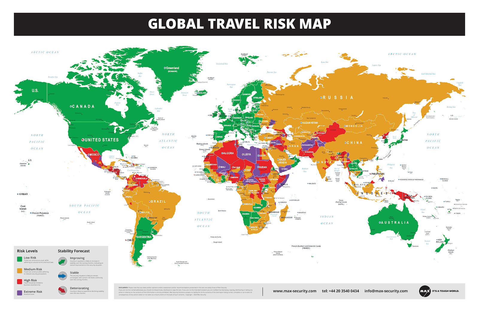 GEO´ PERSPECTIVES: GLOBAL TRAVEL RISK