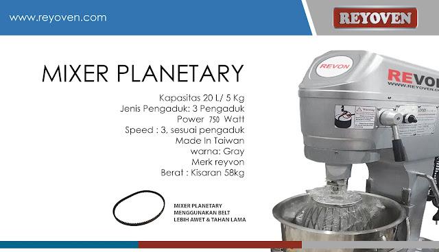 Harga Mixer Roti Planetary Murah dengan Belt