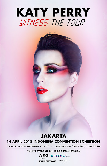 Katy Perry show in jakarta