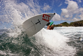 Tombstone  Surfboard in Action