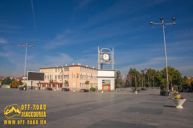 Clock Tower - Strumica city square - Macedonia