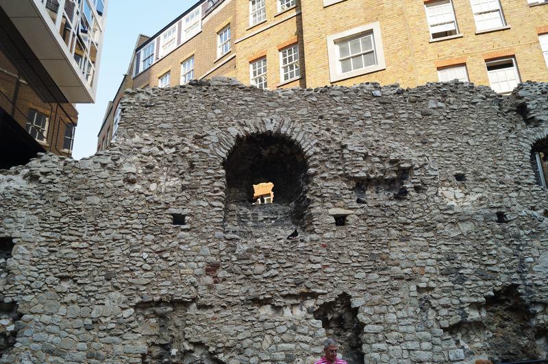 muralla romana de Londres