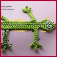 Marcapaginas lagartija