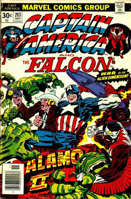 Captain America and the Falcon #203