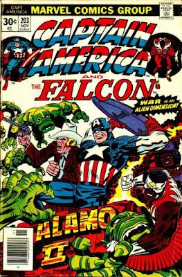 Captain America and the Falcon #203