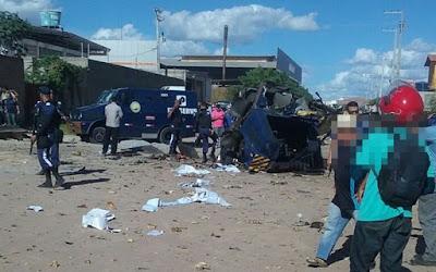 Bandidos fortemente armados explodem carro-forte em Petrolina – PE
