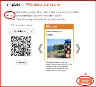 cara merubah blog agar mobile friendly