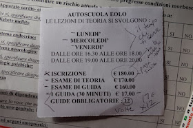 costs of Italian Driving Permit license to drive Italy for Americans