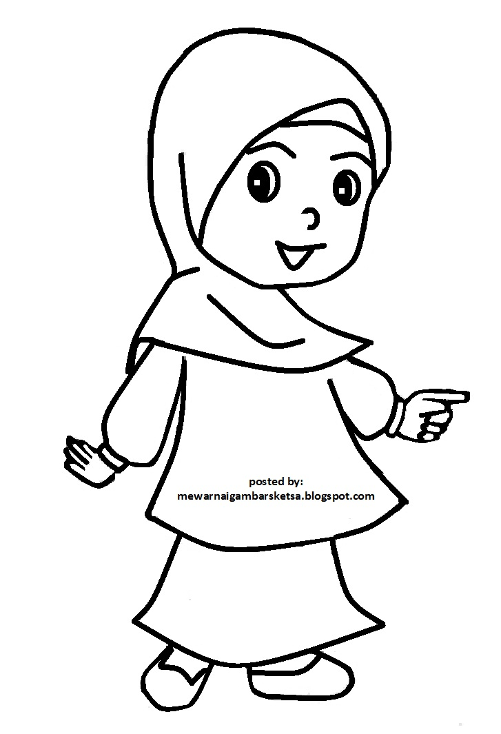 Mewarnai Muslim Related Keywords Suggestions Mewarnai Muslim