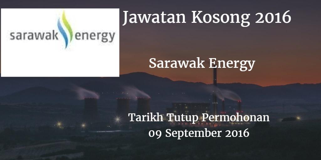 Jawatan Kosong Sarawak Energy 09 September 2016