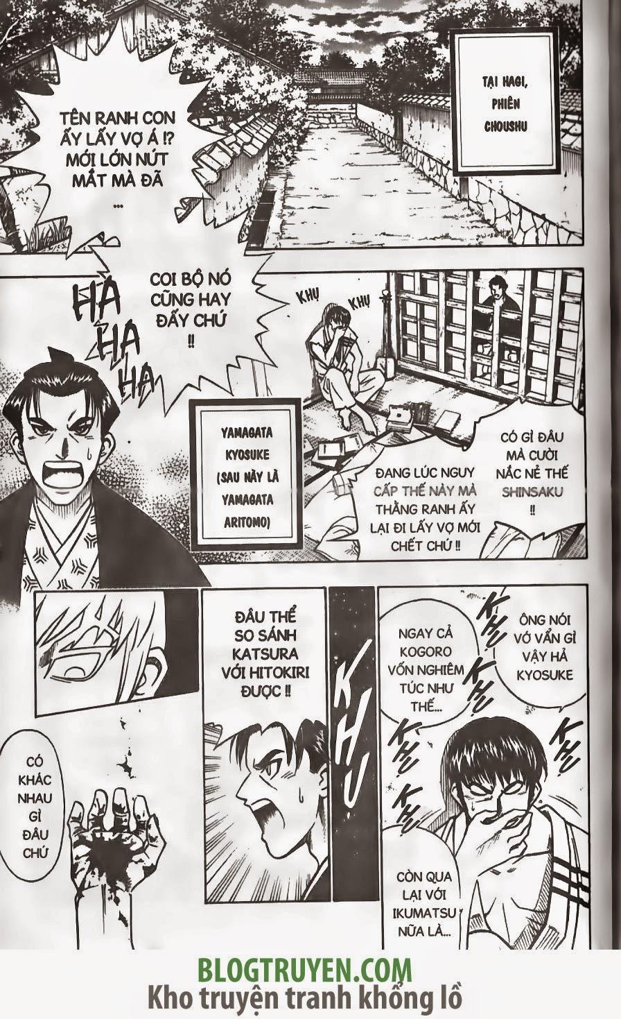 Rurouni Kenshin chap 170 trang 16