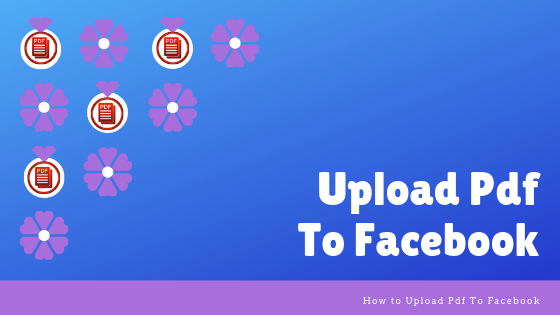 Upload A Pdf To Facebook<br/>