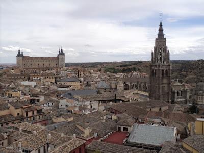cidade de Toledo na Espanha